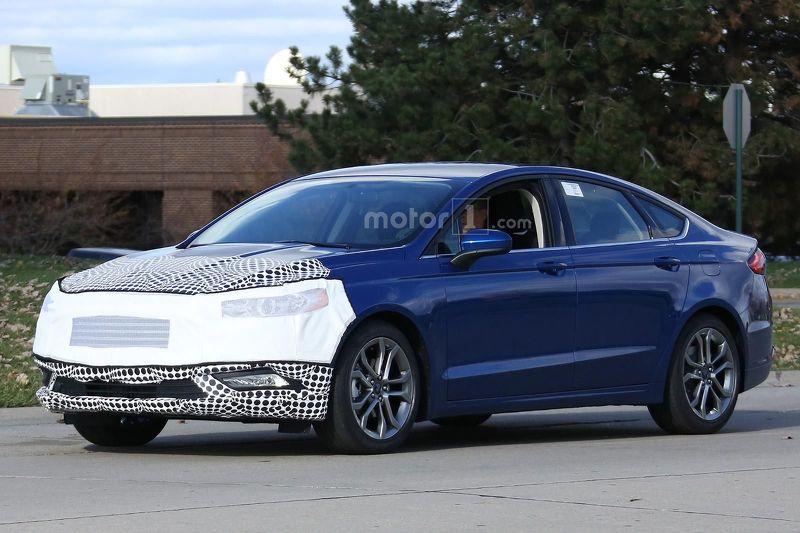 أول ظهور للنسخة المحدثة من سيارة فورد فيوجن 2017